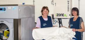 Ozone Disinfection For Laundries